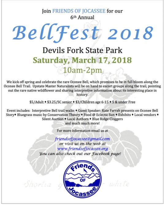 Oconee BellFest 2018